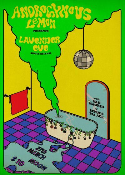 Androgynous Lemon - Lavender Eve Single Release
