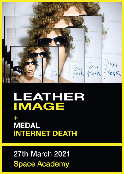 Leather Image, Medal And Internet Death