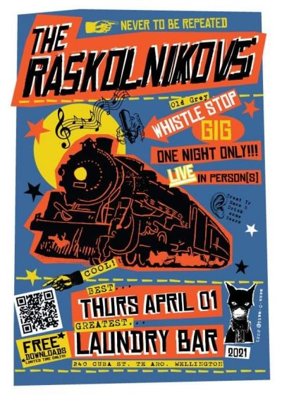 The Raskolnikovs - Live!
