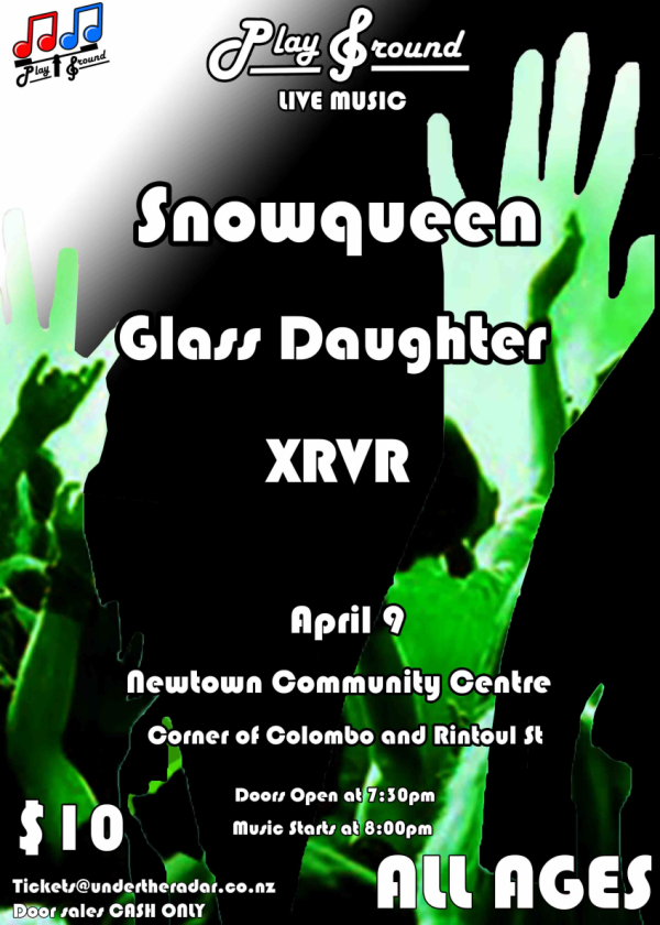 Snowqueen x Glass Daughter x XRVR