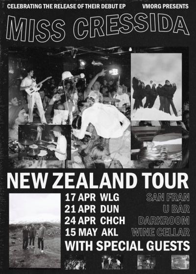 Miss Cressida EP Tour