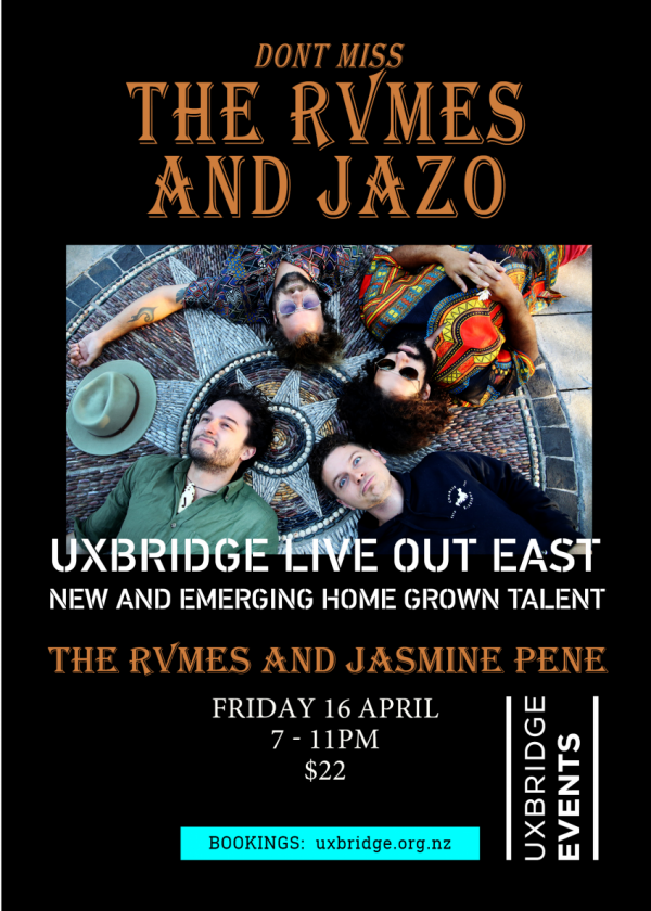 The Rvmes And Jasmine Pene - Live Out East.
