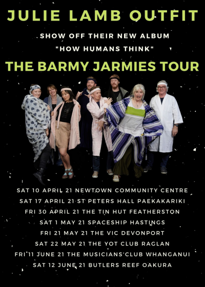 Julie Lamb Outfit: The Barmy Jarmies Tour