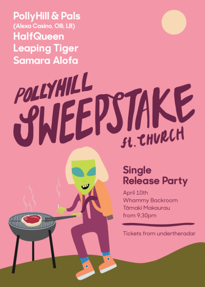 Pollyhill's 'Sweepstake' Single Release Party
