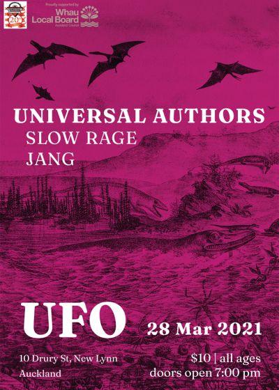 Universal Authors / Jang / Slow Rage