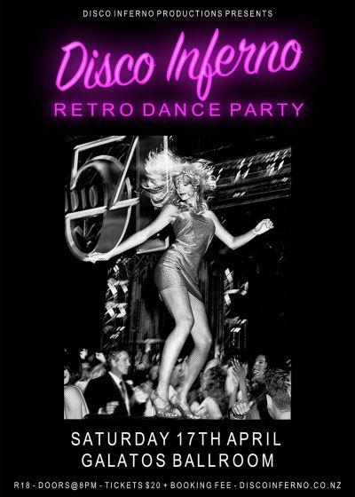 Disco Inferno - Retro Disco Dance Party