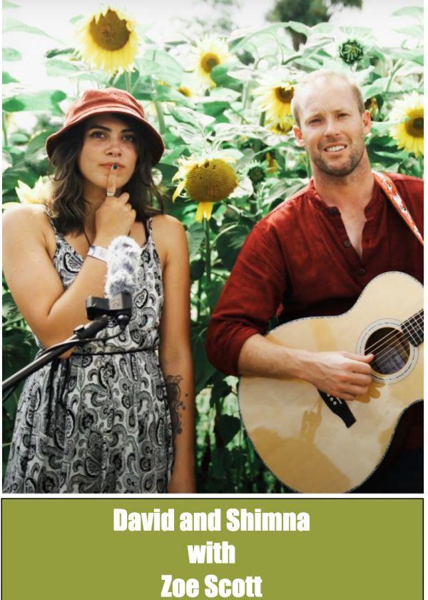 David and Shimna w/- Zoe Scott