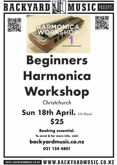 Beginners Harmonica Workshop