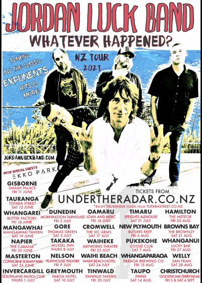 Jordan Luck Band - Whatever Happened? - NZ Winter Tour