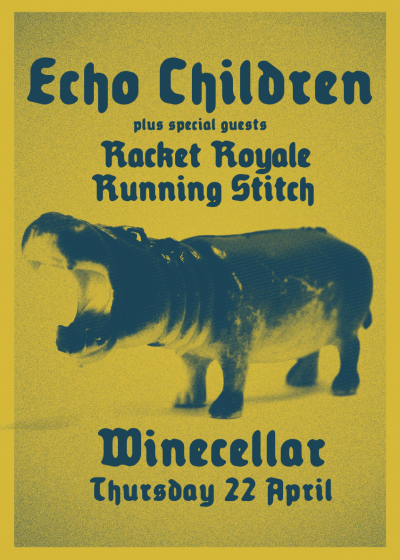 Echo Children / Racket Royale / Running Stitch