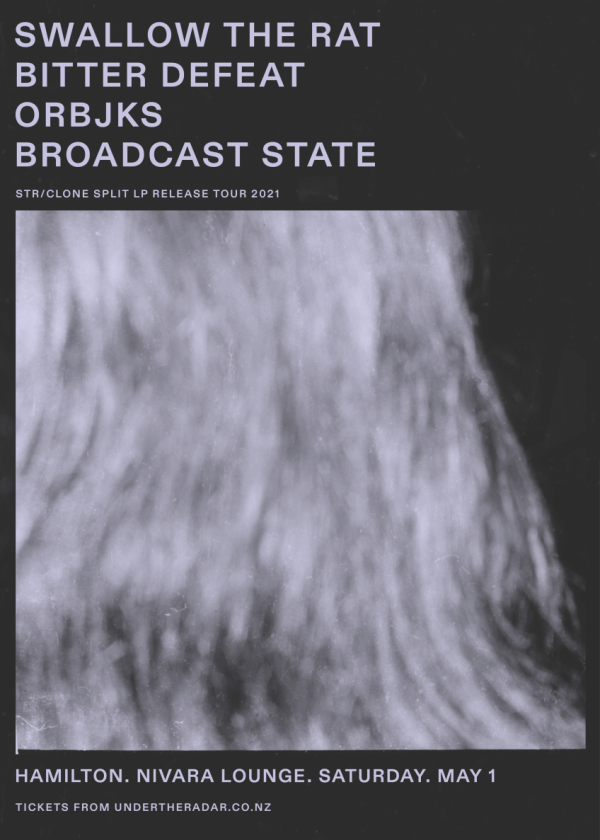 Swallow the Rat LP release w/ Bitter Defeat, ORBJKS, Broadcast State