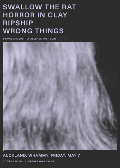 Swallow the Rat LP release w/ Horror In Clay, Ripship, Wrong Things