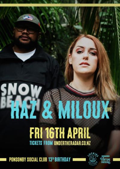 Haz Beats And Miloux Live