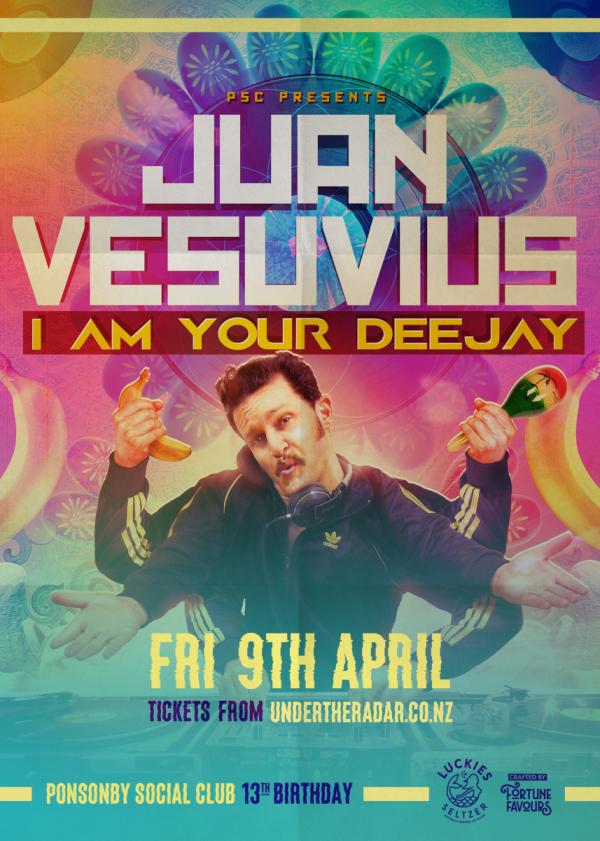 Juan Vesuvius: Im Your DJ