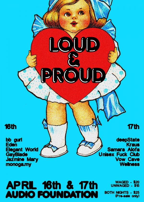 Loud And Proud Festival – Night One