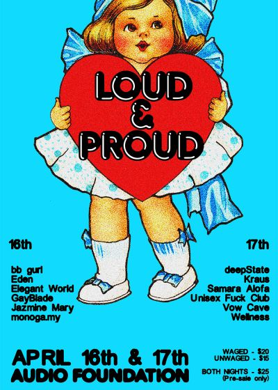 Loud And Proud Festival – Night Two