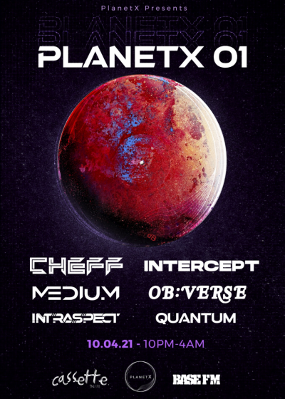 Planetx Entertainment Presents: Planetx 01