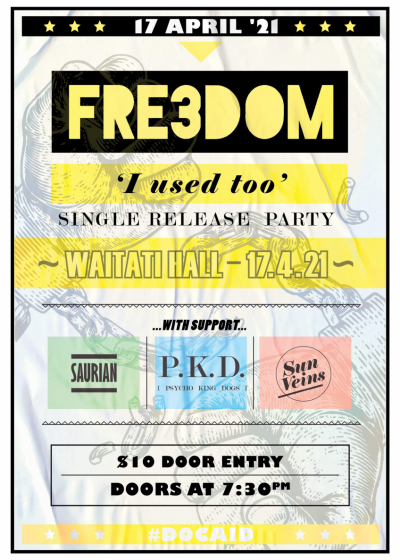 Fre3dom And Friends. Single Release Gig