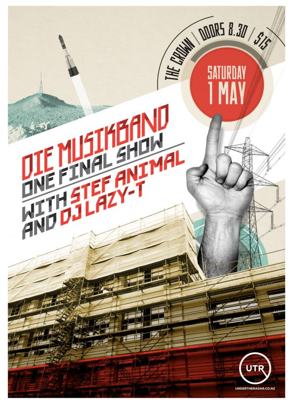 Die Musikband w/ Stef Animal and DJ Lazy T