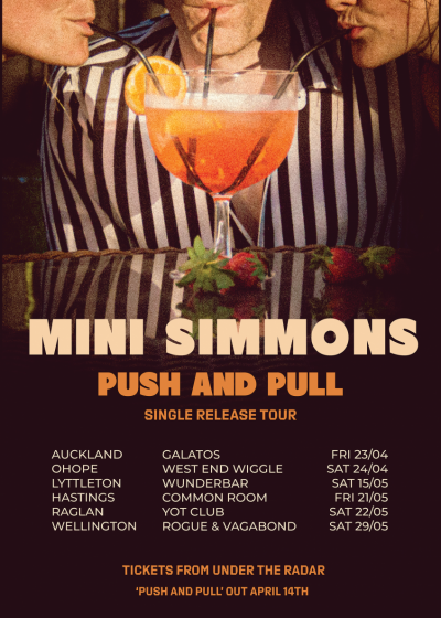 Mini Simmons Push And Pull Single Release Tour