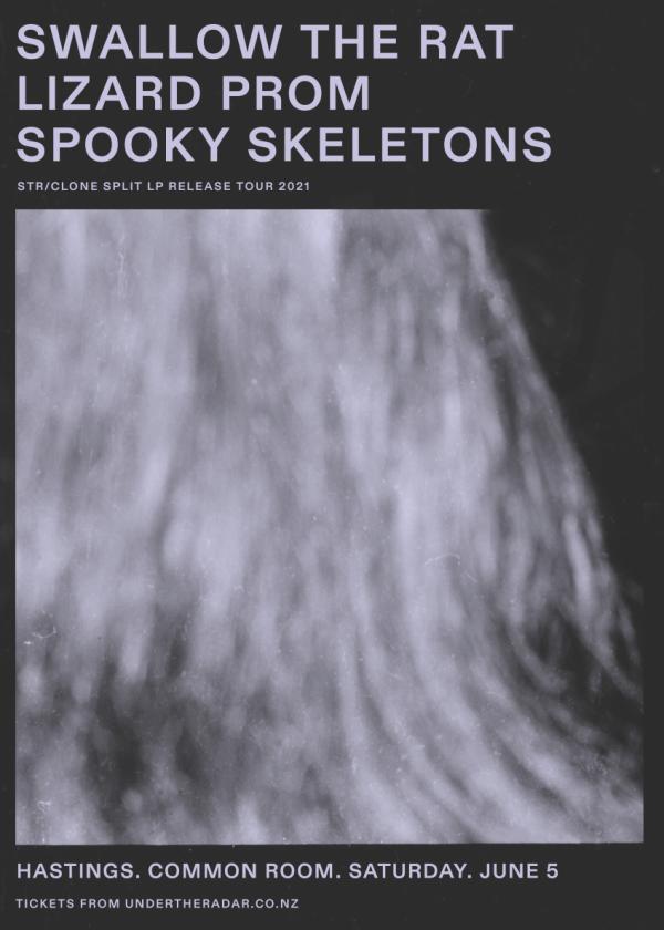 Swallow the Rat LP release w/ Lizard Prom & Spooky Skeletons