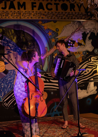 Good Habits UK Alt-folk Duo + The Decorative Poet