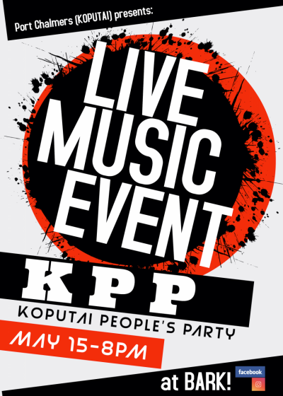 Kōpūtai People's Party Live At Bark!