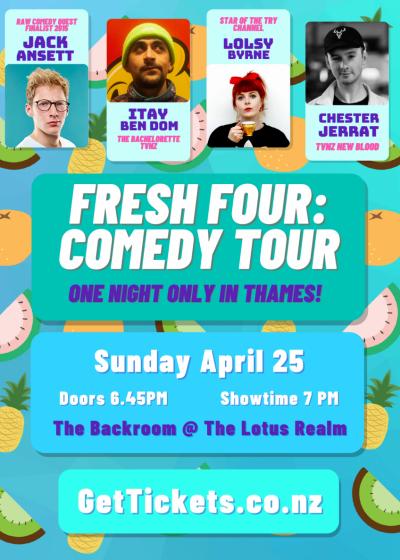 Fresh Four Comedy Tour