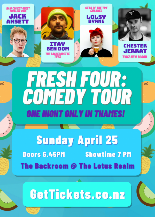 Fresh Four Comedy Tour