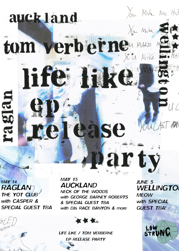 Tom Verberne Life Like Release Party