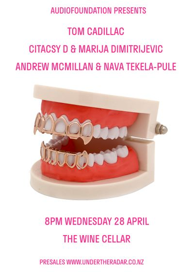Andrew Mcmillan And Nava Tekela-pule, Citacsy D And Marija D, Tom Cadillac