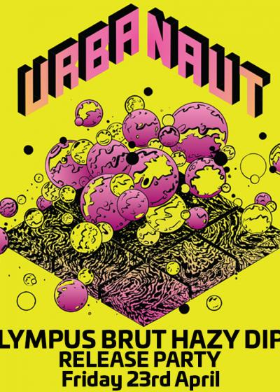 Urbanaut 'Olympus' Double Hazy Ipa Fresh-pour Party