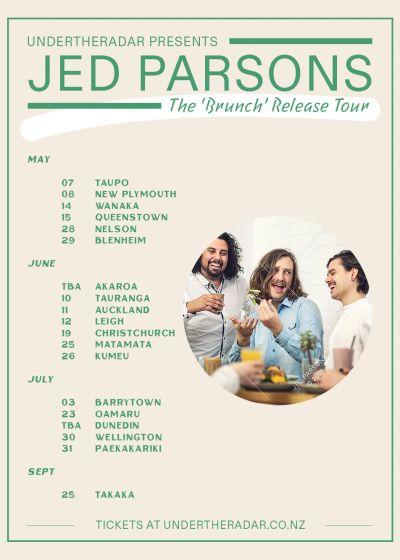 Jed Parsons 'Brunch' Release Tour