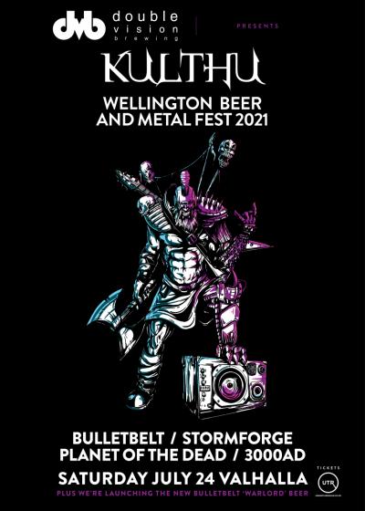 Kulthu - Wellington Beer And Metal Fest