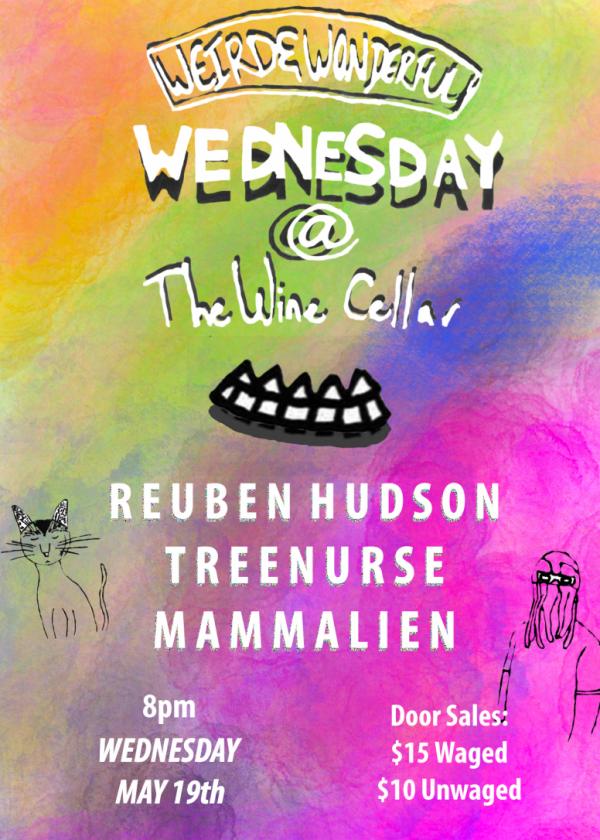 Weird And Wonderful Wednesday - Reuben Hudson, Treenurse, Mammalien