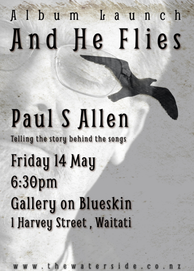 Paul S Allen - And He Flies - Album Launch