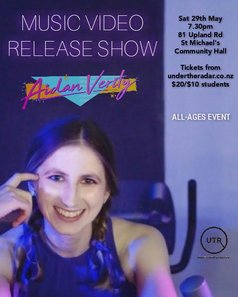 Aidan Verity Music Video Premiere