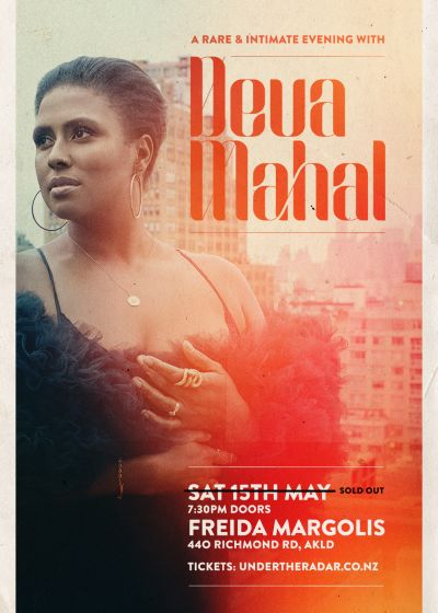 A Rare & Intimate Evening With Deva Mahal (Live) - SOLD OUT - NEW SHOW SUNDAY 16th