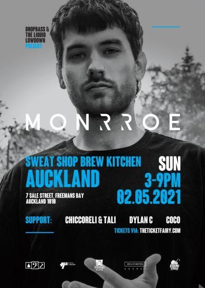 Drop Bass and  Liquid Lowdown Present Monrroe (uk) Day Party