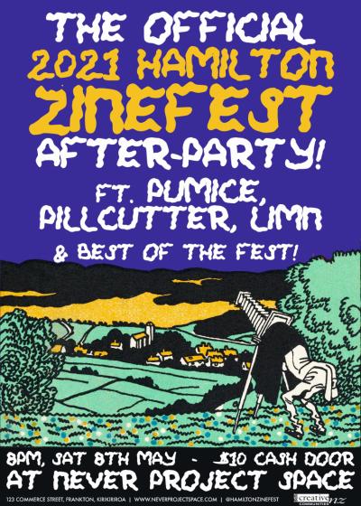 Hamilton Zinefest After Party