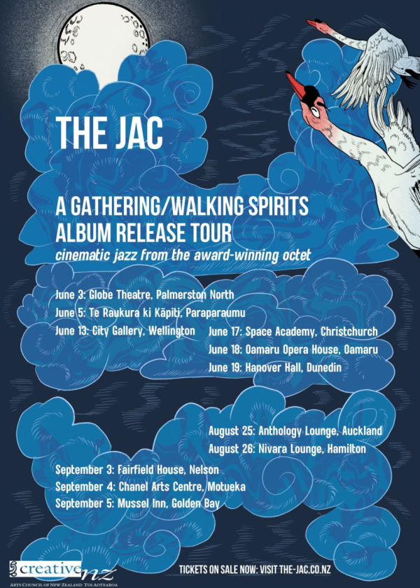 The Jac: A Gathering/Walking Spirits Double Album Release