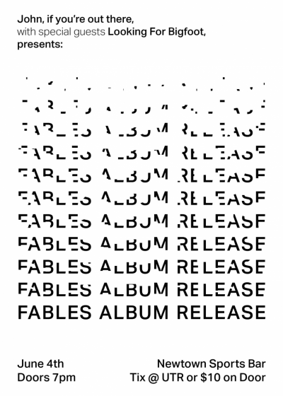 Fables Album Release Party