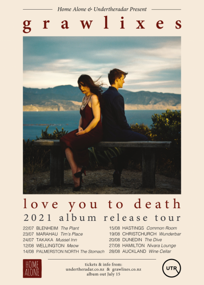 Grawlixes 'Love You To Death' Album Release Tour