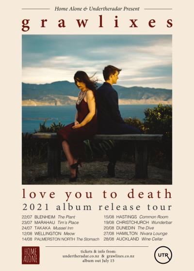 Grawlixes 'Love You To Death' Album Release Tour