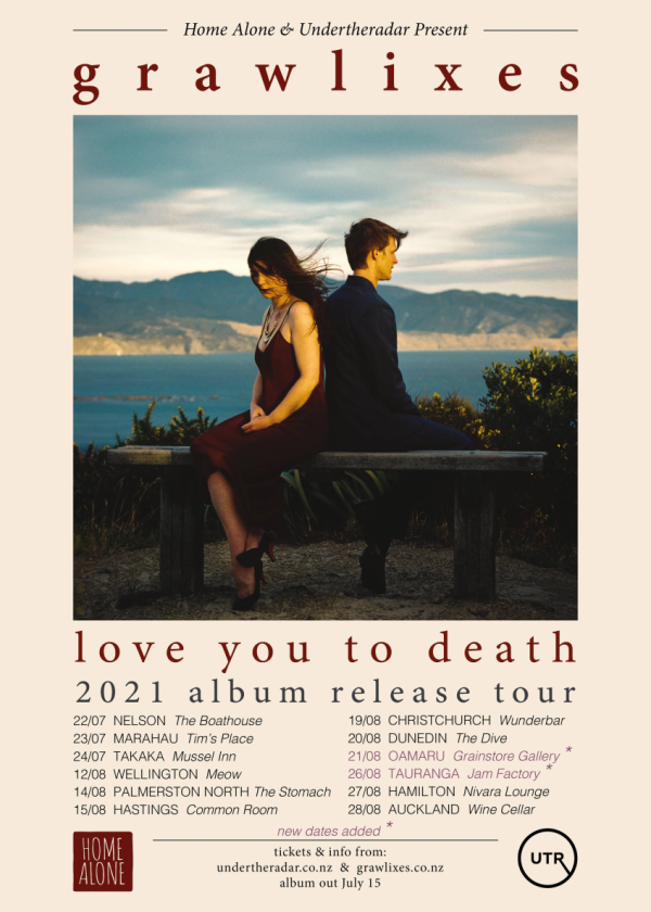 Grawlixes 'Love You To Death' Album Release Tour - Cancelled