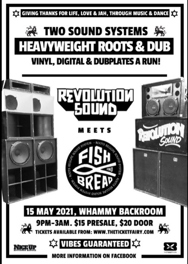 Fish And Bread Meets Revolution Sound - Heavyweight Roots And Dub