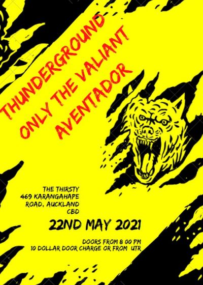 Music Month Punk- Thunderground/ Aventador/ Only The Valiant