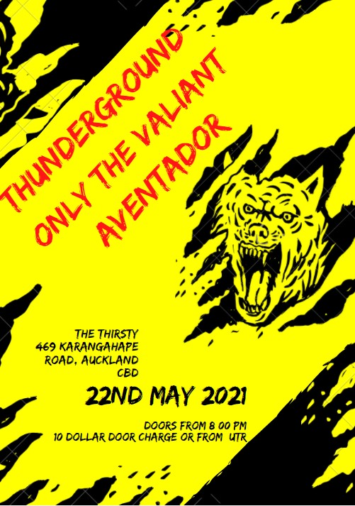 Music Month Punk- Thunderground/ Aventador/ Only The Valiant