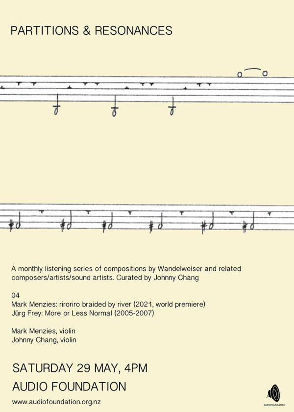 Partitions And Resonances #4 - Mark Menzies And Johnny Chang