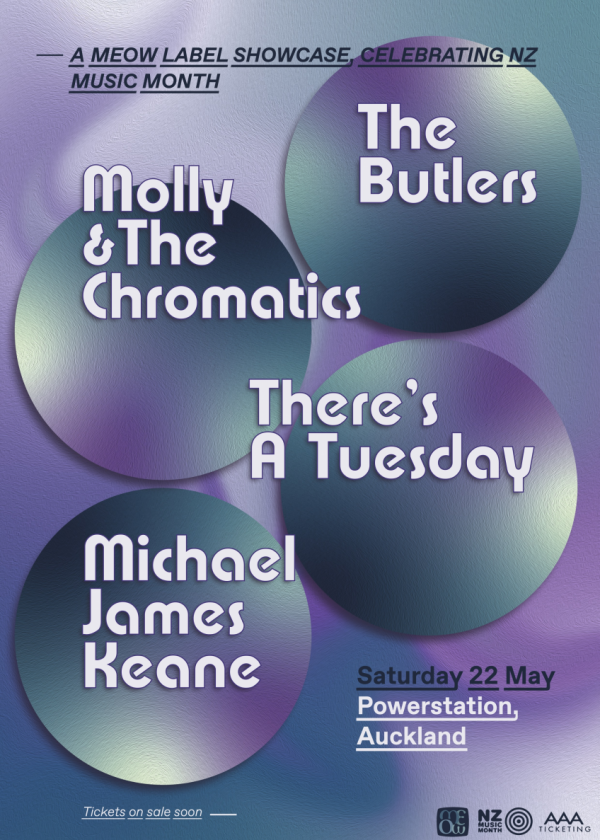 The Butlers, Molly And The Chromatics, There's A Tuesday And Michael Keane